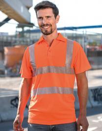 Hi-Viz Broken Reflective Polo Shirt EN ISO 20471