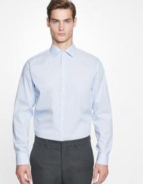 Men´s Shirt Slim Fit Check/Stripes Long Sleeve